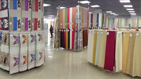 В Киеве открылся крупнейший в Украине магазин тканей сети «Текстиль-Контакт»