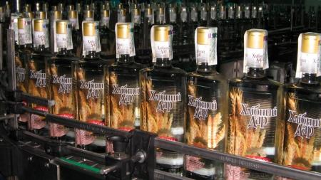 В Украине в марте производство водки выросло на 101%