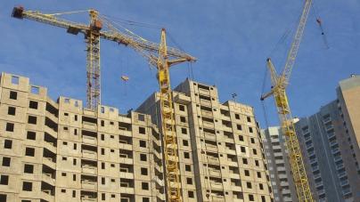 Обсяги будівництва у столиці падають
