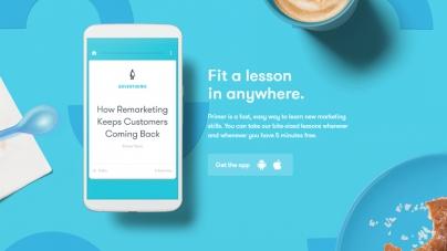 Google представил приложение с мини-уроками по маркетингу