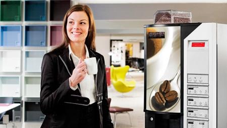 Киевcкие кофейные автоматы начали принимать к оплате бесконтактные карты