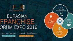 Международная ярмарка франшиз Eurasian Franchise ForumExpo 2016
