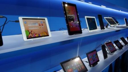 Продажи планшетов упали на 12,3%