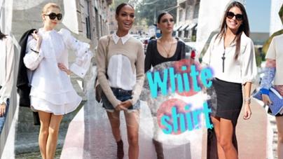 Белая рубашка: универсальное решение на все случаи жизни