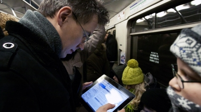 Интернет в сети Vodafone стал доступен пассажирам «синей» линии киевского метро