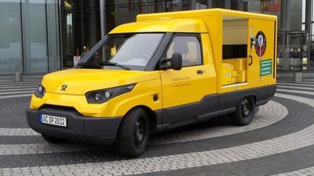 Deutsche Post разрабатывает электрические грузовики