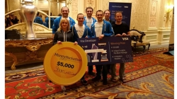 Українська збірна розробників ПриватБанк Corezoid узяла Visa Challenge Money 20/20 Hackathon у Лас-Вегасі