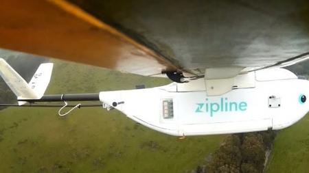Стартап по доставке медикаментов дронами Zipline привлёк $25 млн инвестиций