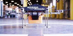 Amazon патентует складские дирижабли для доставки товаров дронами