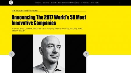 Топ-50 инновационных компаний, по версии Fast Company