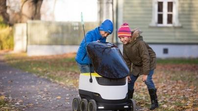 Власти Вирджинии разрешили роботам перевозить посылки по тротуарам