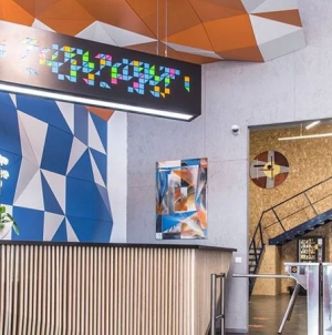 IT та мистецтво: офіс групи компаній EVO прикрасили роботи 50-ти сучасних художників. Експозиція відкрита для всіх