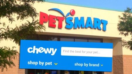 PetSmart и Chewy.com проведут крупнейшее слияние в истории интернет-коммерции
