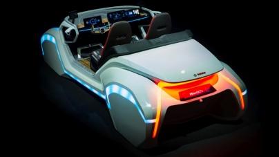 Bosch представил концепт умного автомобиля
