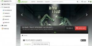 Сервис uTorrent запустил собственный магазин игр