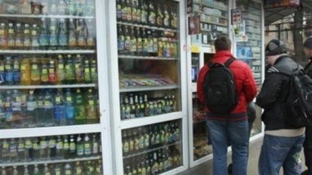Киевсовет запретил продавать алкоголь в киосках