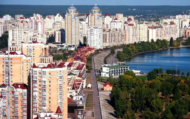 Интерес к недвижимости в пригороде Киева растет
