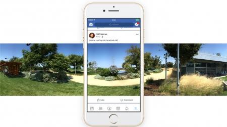 Facebook исправит искаженные панорамные фотографии с помощью нейросетей