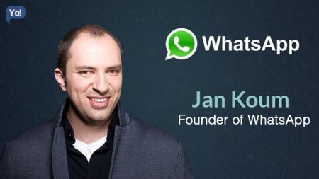Из украинской провинции — в миллиардеры: история успеха основателя WhatsApp Яна Кума