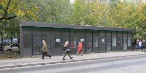 Девять оттенков МАФов: в Киеве утвердили киоски нового образца