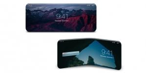 Apple получила патент на гибкий дисплей для смартфонов
