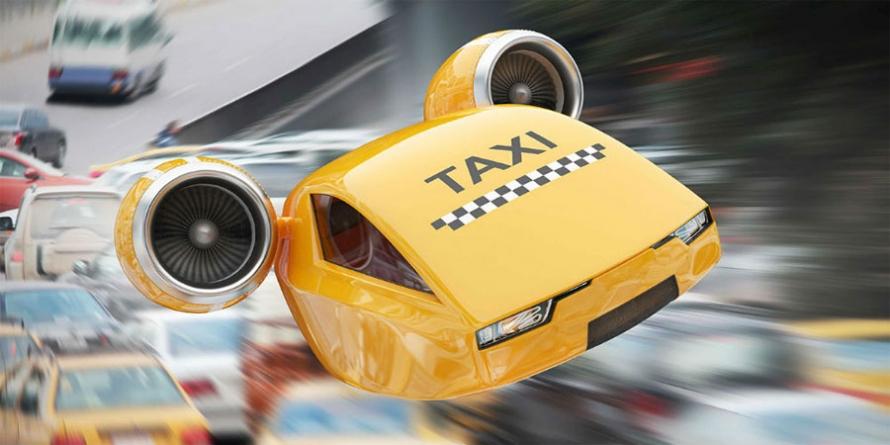 Uber создаст летающее такси вместе с NASA