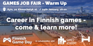 Games Job Fair — WarmUp