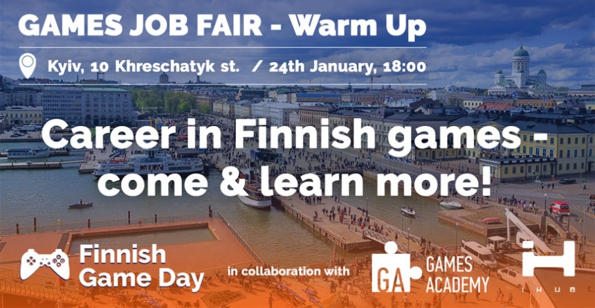 Games Job Fair — WarmUp