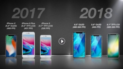 Apple выпустит три новых iPhone