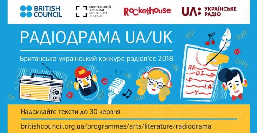 Українське радіо та Британська Рада проведять конкурс «Радіодрама UA/UK»