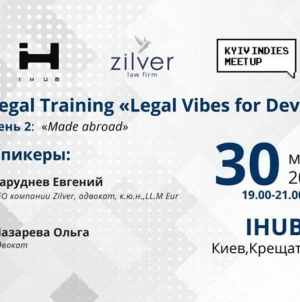 "Legal Training ""Legal Vibes for Dev's"""