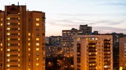 На вторичном рынке недвижимости Киева произошло краткосрочные сезонное колебание цен