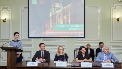 Vodafone сделает Харьков smart-городом