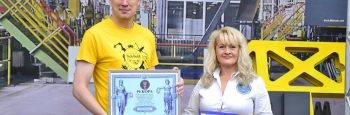 Найбільший макет промислового обладнання з картону: на Interpipe Techfest встановили рекорд України