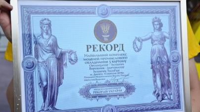Самый большой макет промышленного оборудования из картона: на Interpipe Techfest установят рекорд Украины
