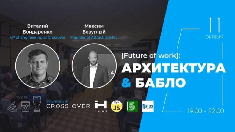 Future of work: архитектура ПО & финансы