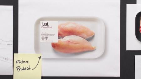Американская Just начнет продавать выращенные в пробирках стейки и колбасу