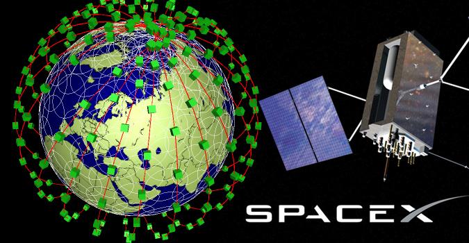 Глобальный интернет запустят благодаря SpaceX
