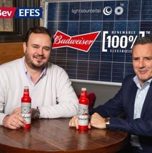 AB InBev и Lightsource BP заключили несубсидированную сделку о закупке солнечной электроэнергии