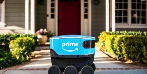 Роботы-курьеры Аmazon будут доставлять товары до двери