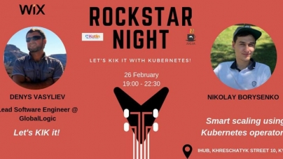 Rockstar Night: Let's KIK it with Kubernetes!