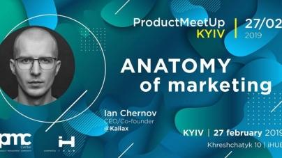 Product MeetUp Kyiv | Anatomy of marketing