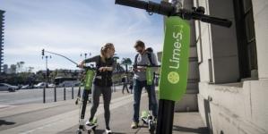 Сервис аренды самокатов Lime привлёк $310 млн при оценке $2,4 млрд