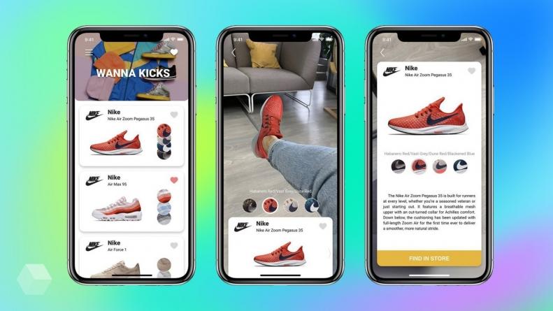 Белорусский AR-стартап запустил приложение для примерки кроссовок