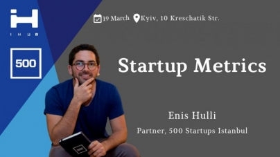 Startup Metrics by 500 Startups