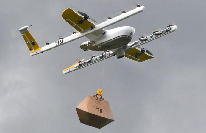 Google запустил сервис доставки дронами раньше Amazon