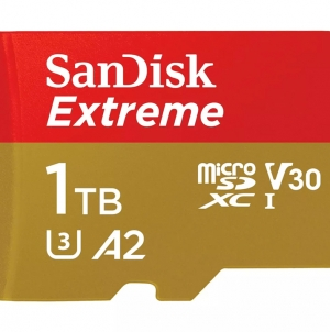 Выпущена первая в мире карта microSD объёмом 1 ТБ