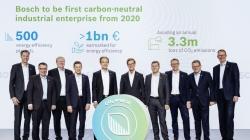 Bosch инвестирует миллиарды в борьбу с изменением климата и улучшение качества воздуха