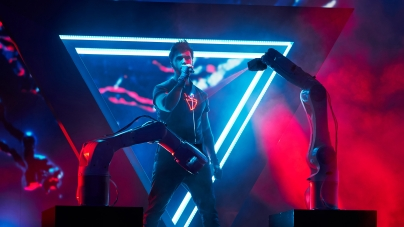 Украинцы создали инновационное шоу для финалиста Евровидения-2019 в Тель-Авиве