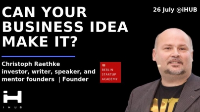 Can your business idea make IT?